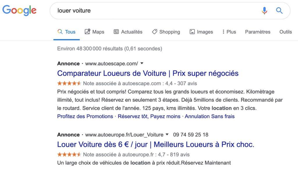 Google Recherche Publicite Simple Annonce 1024x587