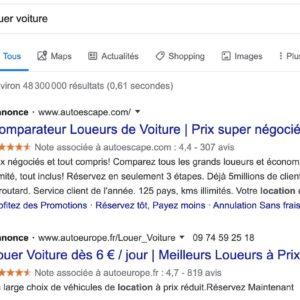 Image article Google ne va plus faire passer les pubs comme des résultats de recherche classiques