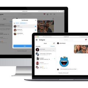 Instagram teste les messages privés accessibles depuis le Web