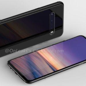 LG G9 : un leak dévoile un bloc photo horizontal à 4 capteurs