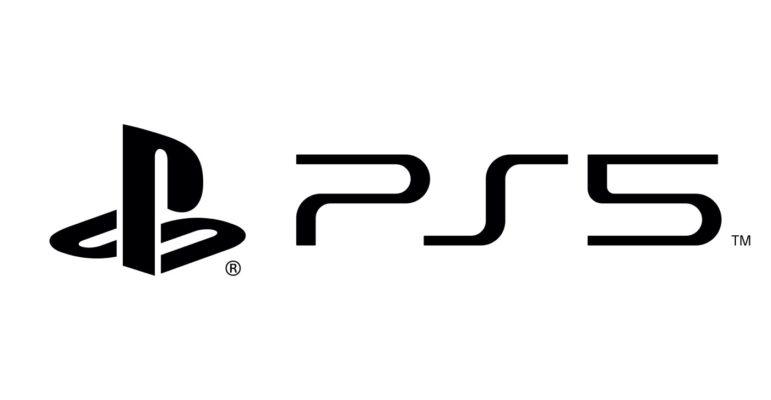 Logo PS5 Officiel Blanc