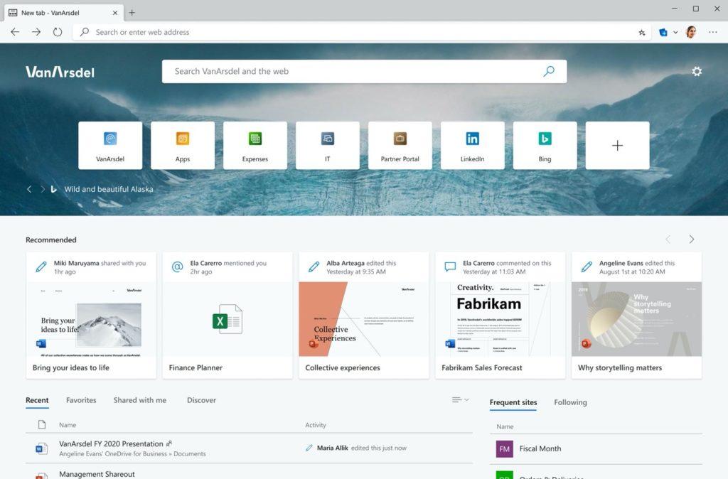 Microsoft Edge ajoute la synchronisation des onglets et de l'historique