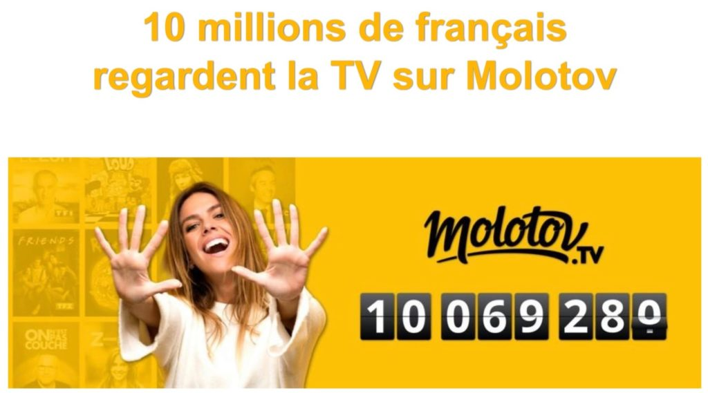 Molotov 10 Millions Utilisateurs 1024x569