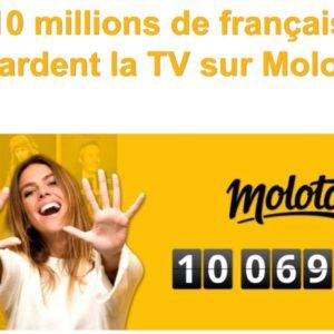 Image article Molotov, le service pour regarder la TV, revendique 10 millions d'utilisateurs