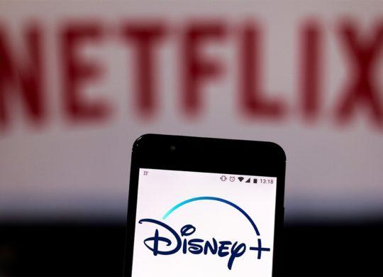 Netflix et Disney Plus Logos