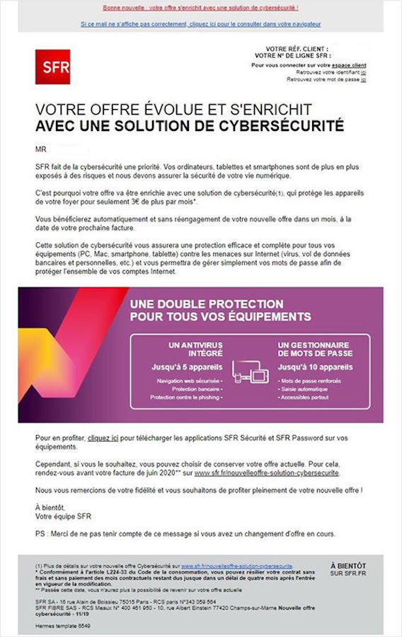 SFR Augmente Prix Abonnement Internet Janvier 2020