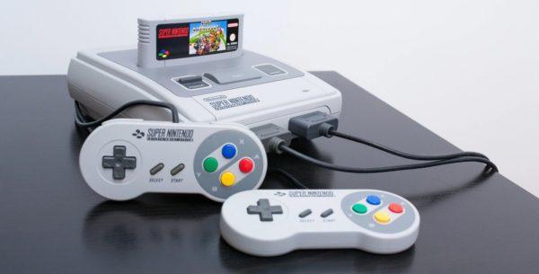 SNES Super Nintendo 600x305