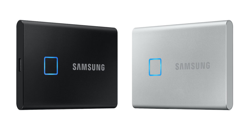 Samsung SSD T7 Touch Capteur Empreintes 1024x528