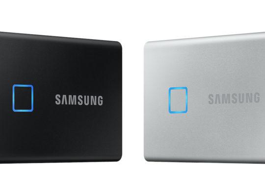 Samsung SSD T7 Touch Capteur Empreintes