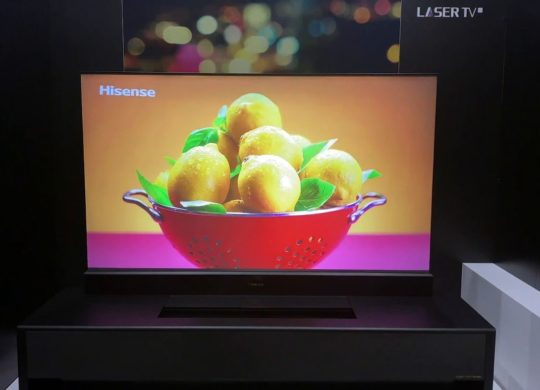 Self Rising Laser TV Hisense