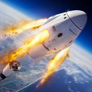 Image article SpaceX : le premier vol habité de la capsule Crew Dragon serait programmé au second trimestre