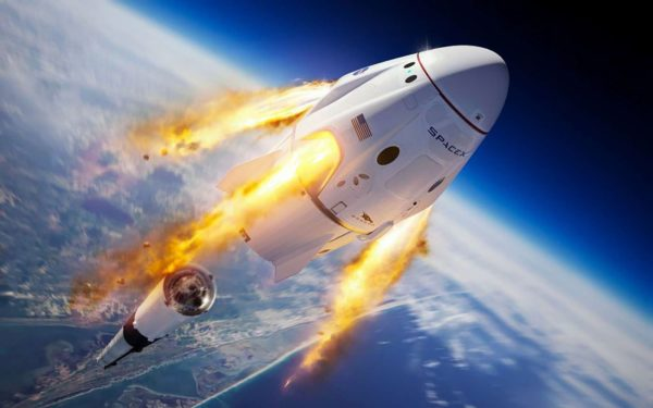 SpaceX Crew Dragon 600x375