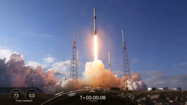 SpaceX starlink 1