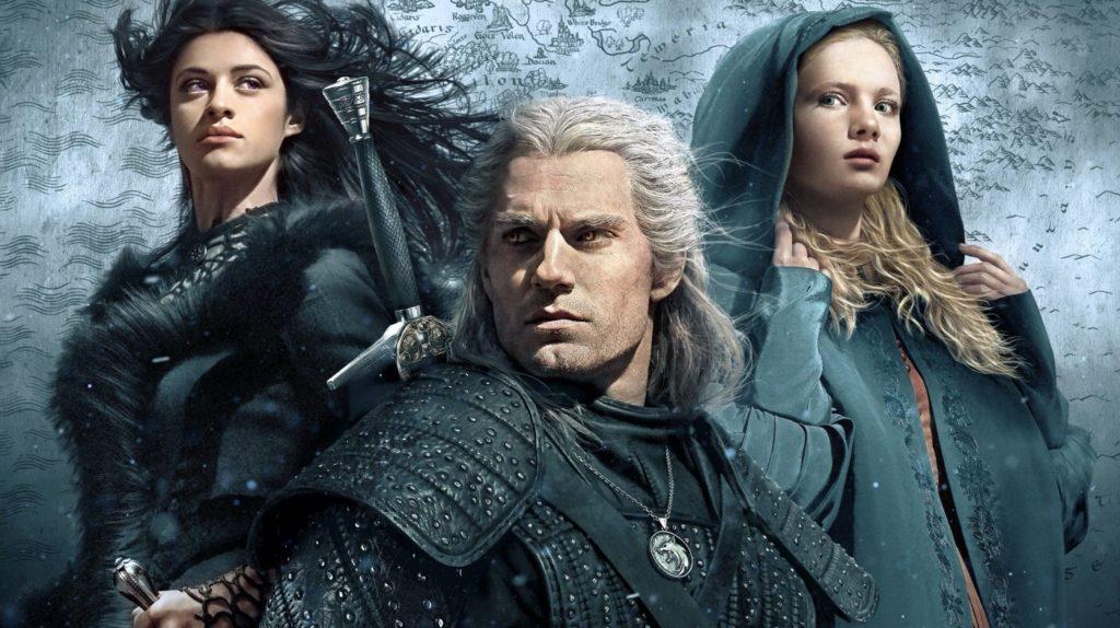 The Witcher Geralt Yennefer Ciri 1024x574