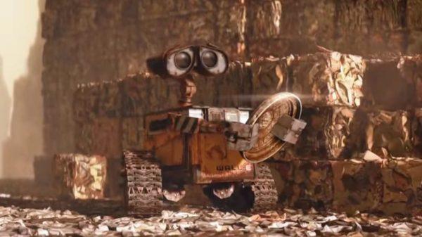 Wall E Robot 600x337