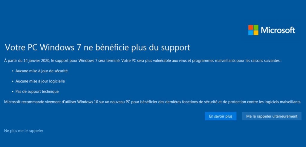 Windows 7 Fin Support 1024x492