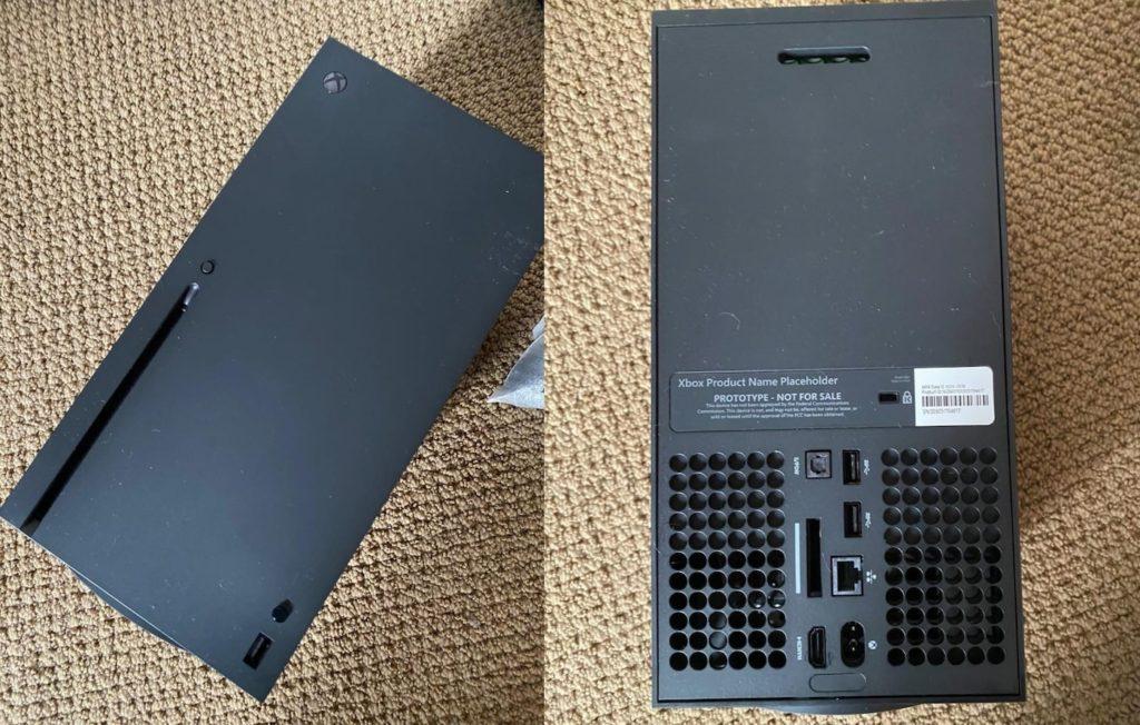 Xbox Series X Avant Arriere Prototype 1024x652