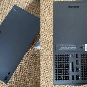Image article Xbox Series X : des photos dévoilent l'avant et l'arrière avec les ports