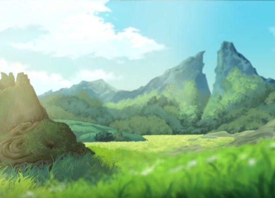 Zelda Ghibli fanmade