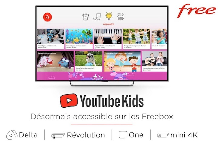 Youtube Kids Freebox