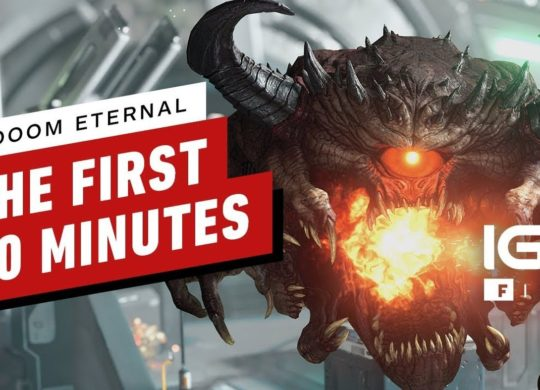 Doom Eternal first 10 minutes
