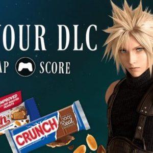 Image article Final Fantasy VII Remake : aux Etats-Unis, il y aura des DLC… dans les barres chocolatées !