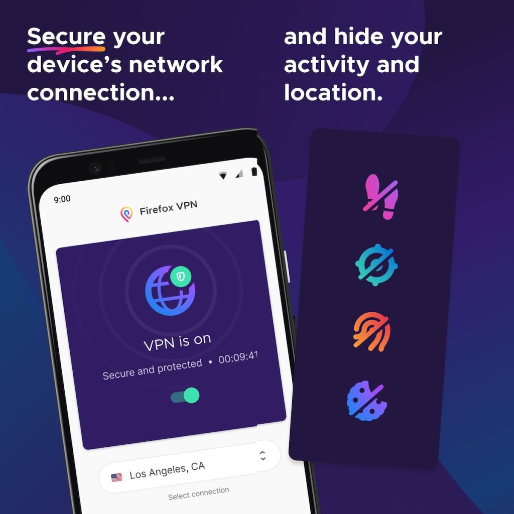 Firefox Private Network VPN Application Android 1024x1024