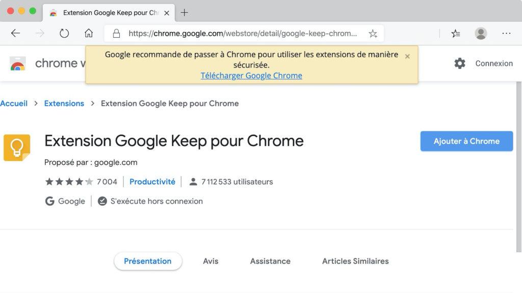 Message Extension Chrome Pour Microsoft Edge 1 1024x574