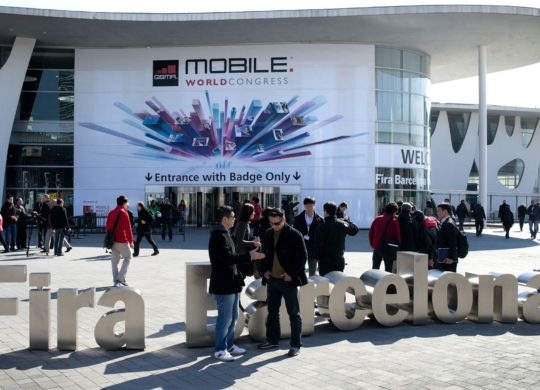 Mobile World Congress Devanture