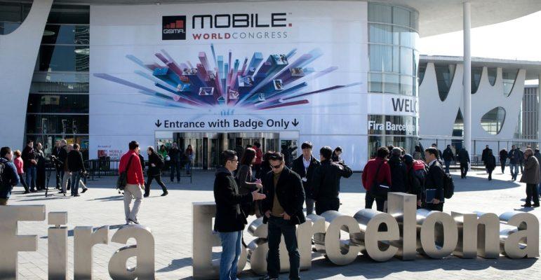 Mobile World Congress Devanture