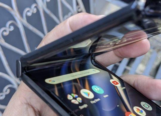 Motorola Razr ecran casse