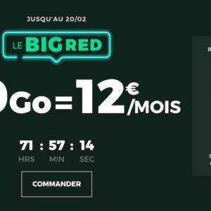 Image article Promo : forfait SFR RED 100 Go à 12€/mois à vie