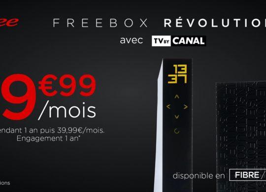 Promo Freebox Revolution et Canal Fevrier 2020