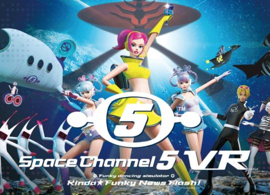 Space Channel 5 PSVR