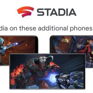 Image article Google Stadia maintenant disponible sur des smartphones autres que les Pixel