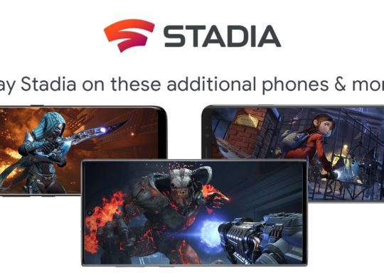 Stadia Smartphones Galaxy