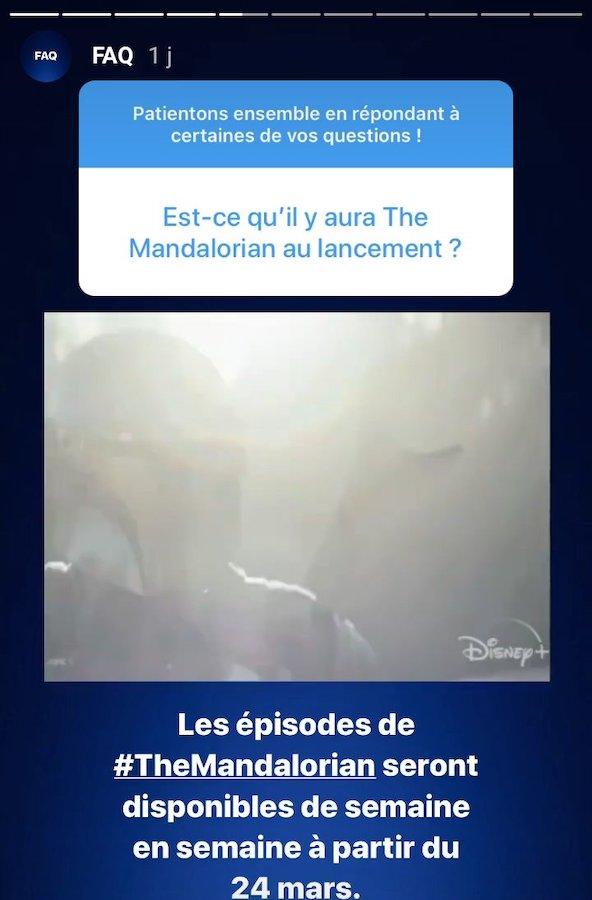 The Mandalorian Diffusion France