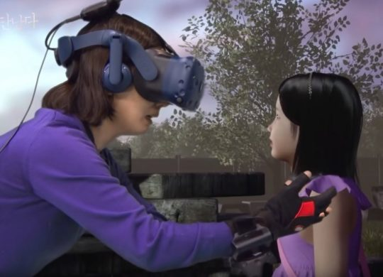 VR coree du sud enfant