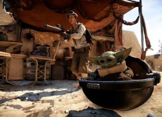 Baby Yoda Battlefront 2
