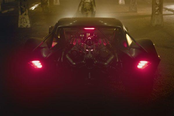 Batmobile The Batman 600x401