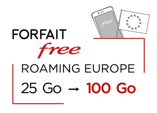 Free Mobile Roaming Europe 100 Go