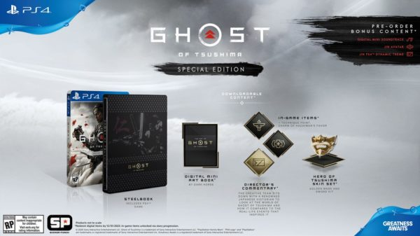 Ghost Of Tsushima Special Edition 600x337