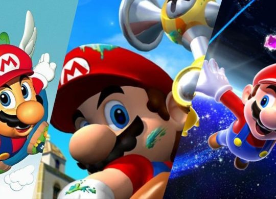 Mario 64 vs Mario Sunshine vs Mario Galaxy