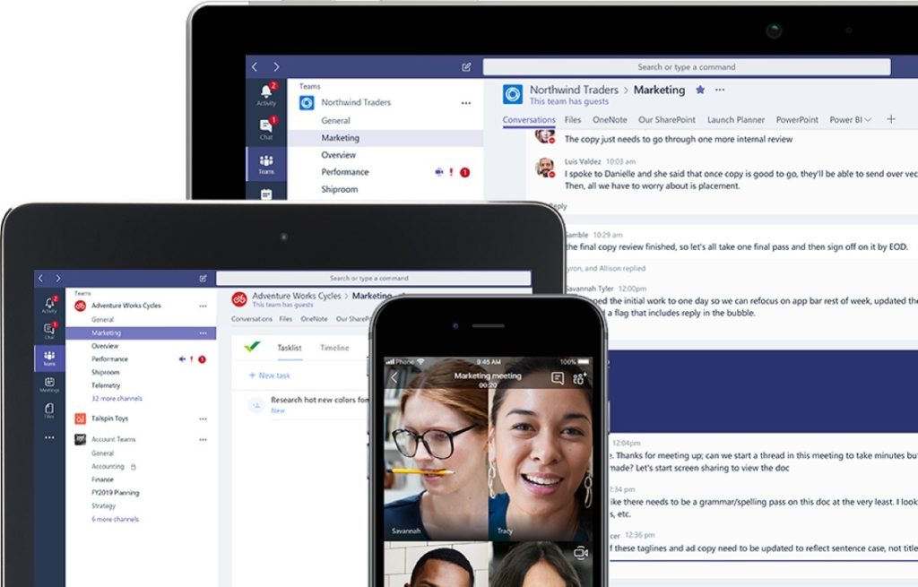 Microsoft Teams 1024x655