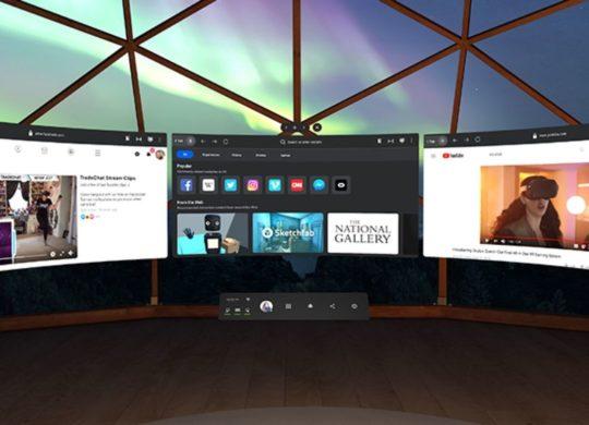 Oculus Quest new interface