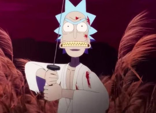 Rick et Morty Samurai et Shogun