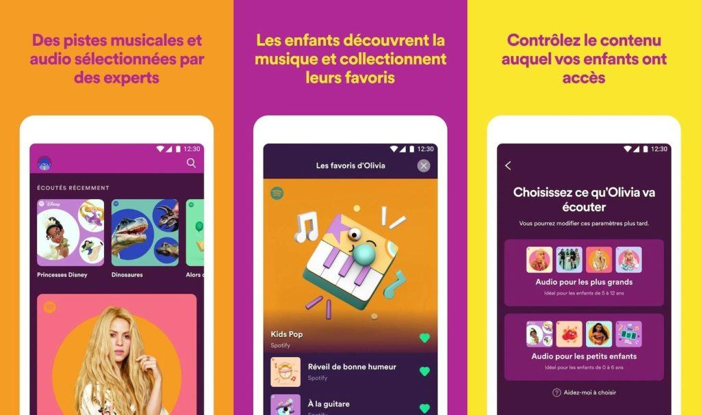 Spotify Kids Francais 1024x607