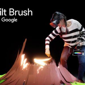 Image article L'appli de peinture virtuelle «Tilt Brush» de Google arrive sur Playstation VR