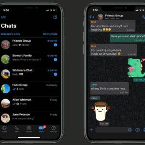 WhatsApp : le mode sombre est disponible pour tout le monde