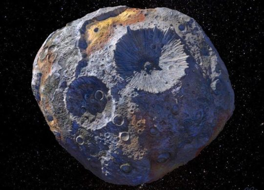 psyche asteroide